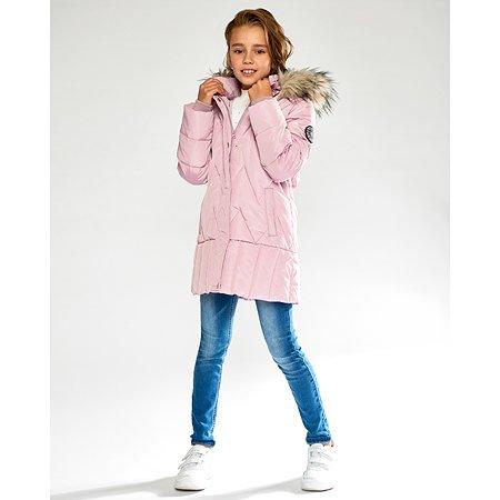 Пальто Futurino Cool светло-розовое