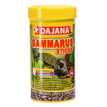 Корм для черепах водных DAJANA Gammarus Палочки 250мл DP153B
