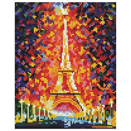 Мозаика алмазная Белоснежка Париж-огни Эйфелевой башни 002-ST-PS