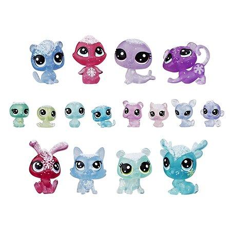 Набор игровой Littlest Pet Shop Холодное царство 16петов E5480EU4