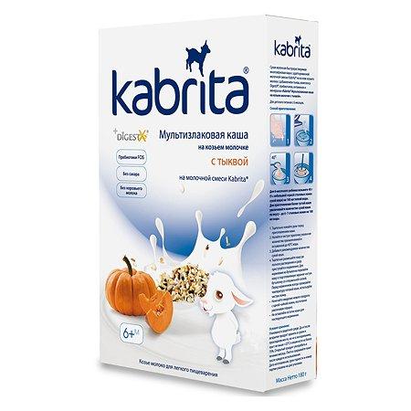 Каша Kabrita мультизлаковая на козьем молоке тыква 180г с 6месяцев