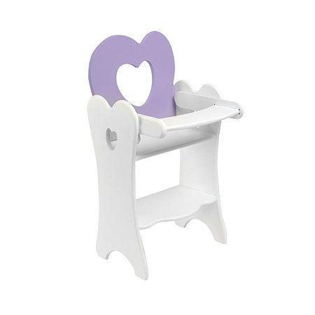 Мебель для кукол PAREMO Стульчик Сиренивый PFD120-30