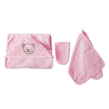 Комплект махровый Baby Nice Розовый