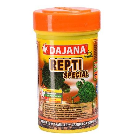 Корм для водных черепах DAJANA Repti Special гранулы 100мл DP152A