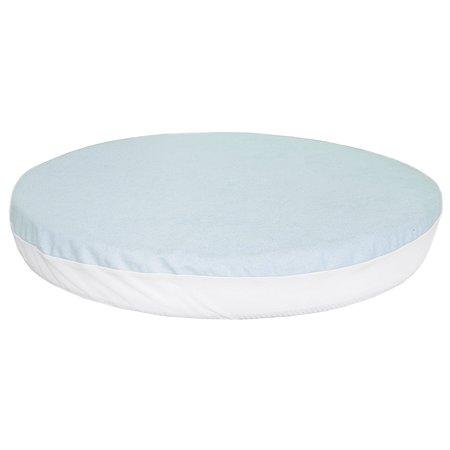 Наматрасник для круглой кроватки Baby Nice Голубой MC7521BL