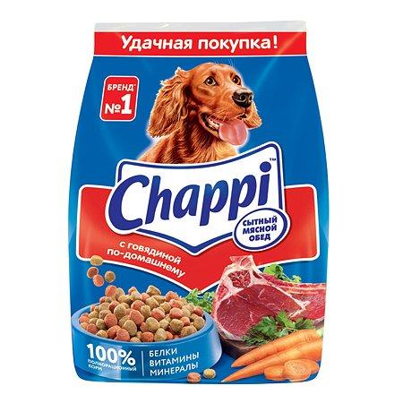Корм для собак Chappi с говядиной сухой 600г