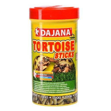 Корм для сухопутных черепах DAJANA Палочки 250мл DP253B