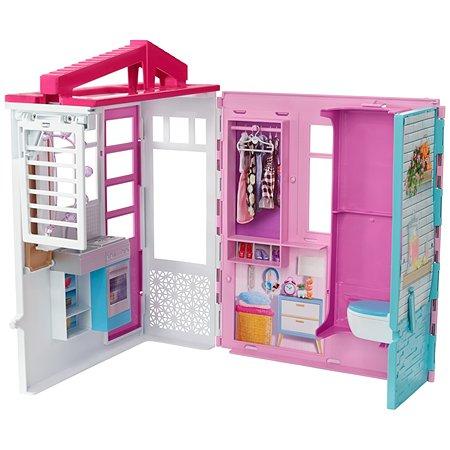 Набор игровой Barbie Кукольный дом FXG54