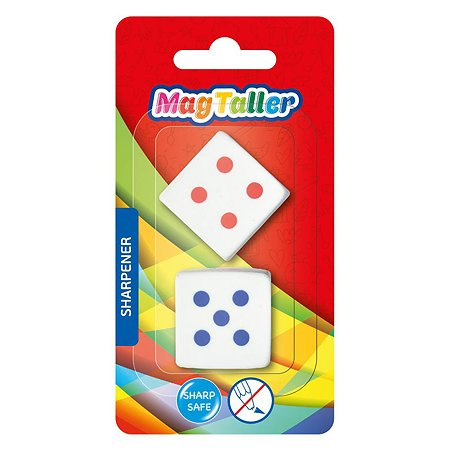 Ластик Magtaller Cube 2шт 605006