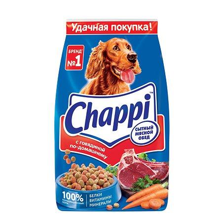 Корм для собак Chappi с говядиной сухой 2.5кг