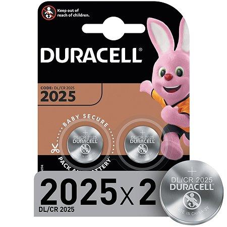Батарейки Duracell 2025 3V 2шт