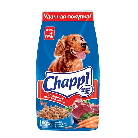 Корм для собак Chappi с говядиной сухой 15кг