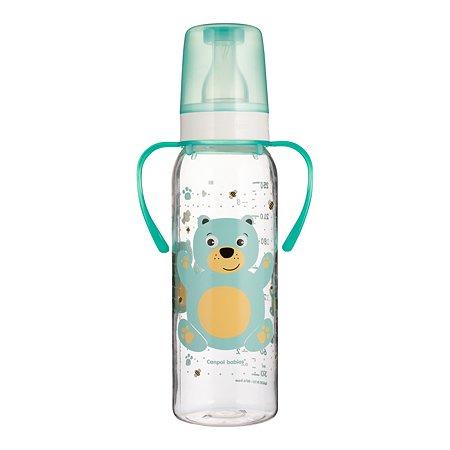 Бутылочка Canpol Babies 250мл с 12месяцев Бирюзовый 250989460