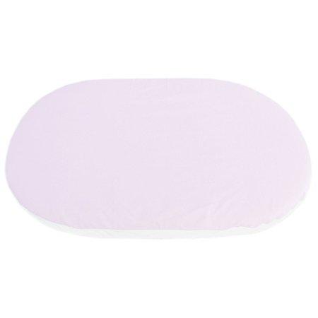 Наматрасник для овальной кроватки Baby Nice Розовый MC8521RO