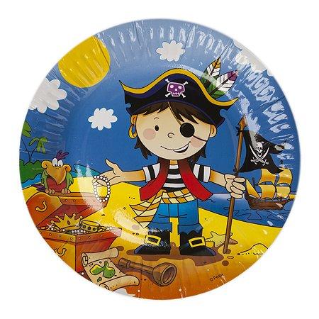 Тарелка GCI Маленький пират 6шт 1502-1296(1298) в ассортименте