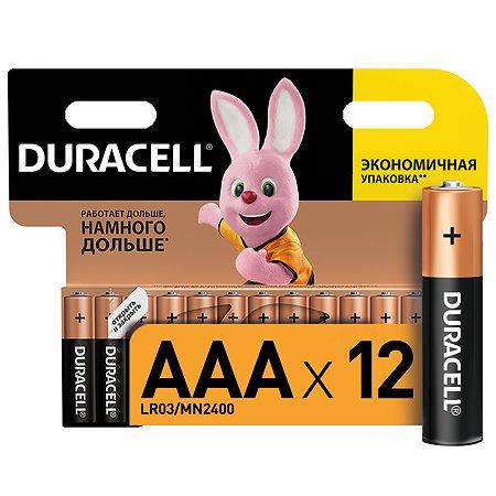 Батарейки Duracell Basic ААA/LR03 2шт