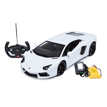 Машинка на радиоуправлении Rastar Lamborghini LP700 1:10 Белая