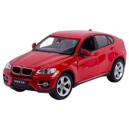 Машинка Rastar BMW X6 1:24 Красная