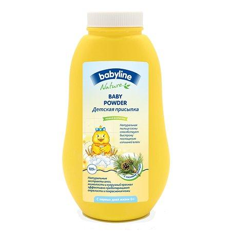 Присыпка Babyline сосновая пыльца 100гр+25%