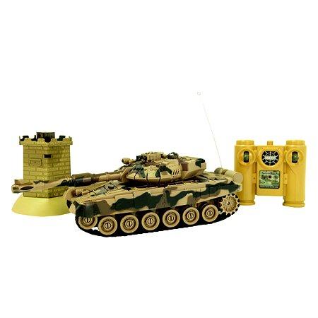 Танк радиоуправляемый HK Industries с бункером в ассортименте