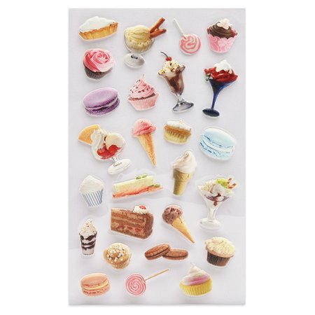 Наклейка декоративная зефирная Липляндия Десерт