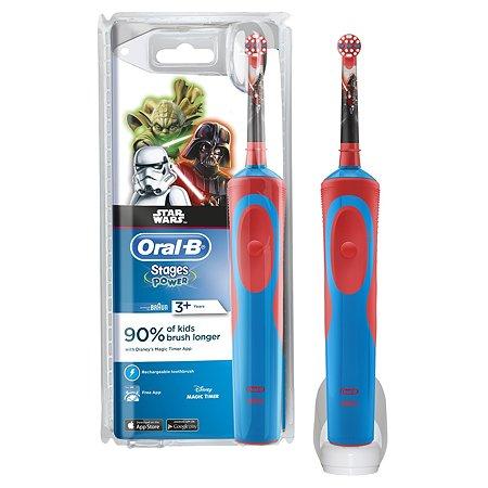 Электрическая зубная щетка Oral-B Stages Power StarWars