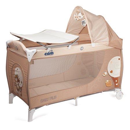 Манеж-кровать CAM Daily Plus цв. 219