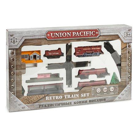 Железная дорога Mobicaro Union Pacific  со светом