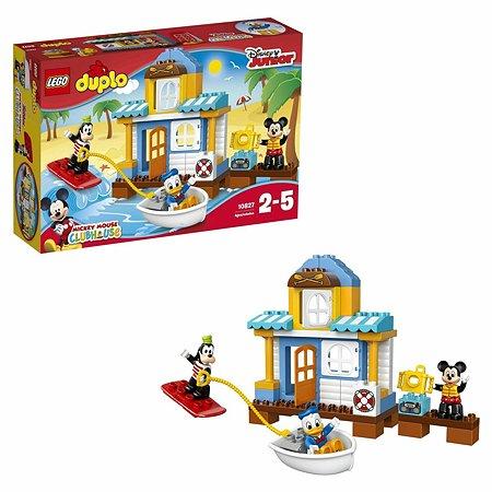 Конструктор LEGO DUPLO Disney TM Домик на пляже (10827)