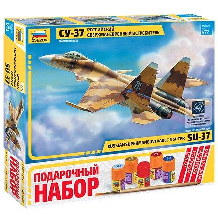 Подарочный набор Звезда Самолет СУ-37
