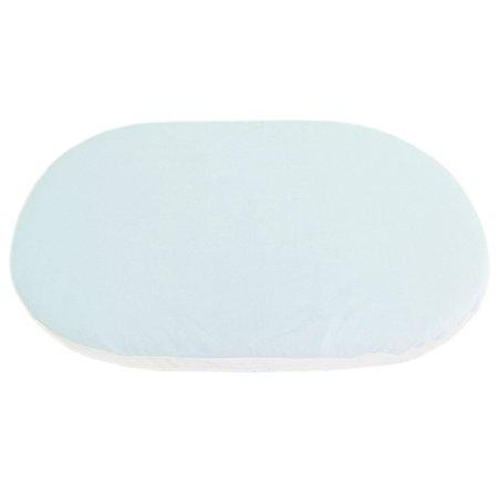 Наматрасник для овальной кроватки Baby Nice Голубой MC8521BL