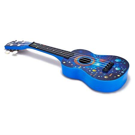 Гитара гавайская Ocie укулеле 54 см 4 струны Синяя