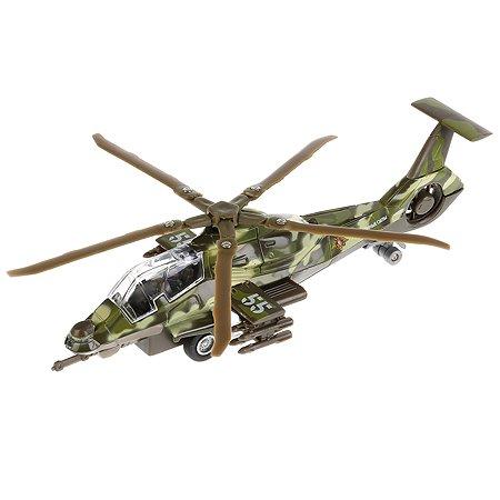 Вертолет военный Технопарк инерционный 109605