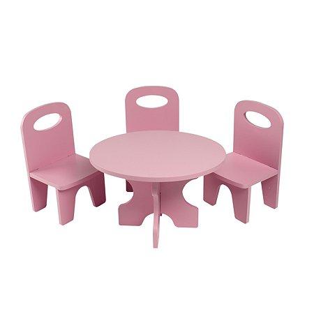Мебель для кукол PAREMO Классика набор 4предмета Розовый PFD120-38