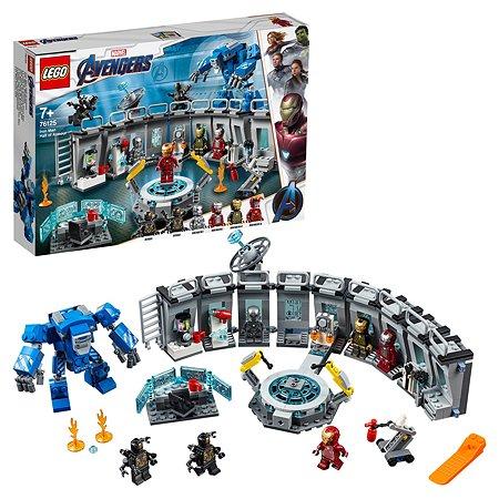 Конструктор LEGO Marvel Super Heroes Лаборатория Железного человека 76125