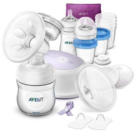 Набор для грудного вскармливания Philips Avent Ultra Comfort с электронным молокоотсосом SCF332/35