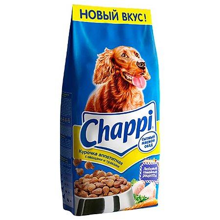 Корм для собак Chappi аппетитная курочка сухой 15кг