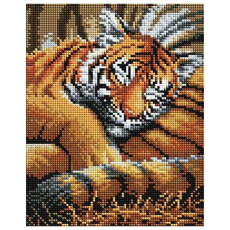 Мозаика алмазная Белоснежка Тигрёнок 418-ST-PS