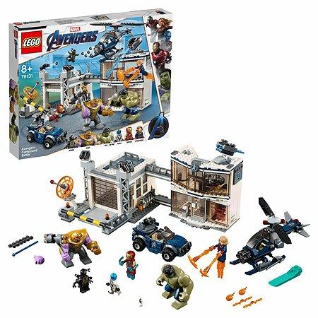 Конструктор LEGO Marvel Super Heroes Битва на базе Мстителей 76131
