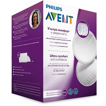 Вкладыши Philips Avent Ultra Comfort одноразовые 100шт SCF254/13