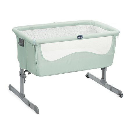 Кроватка Chicco Next2me Dusty Green