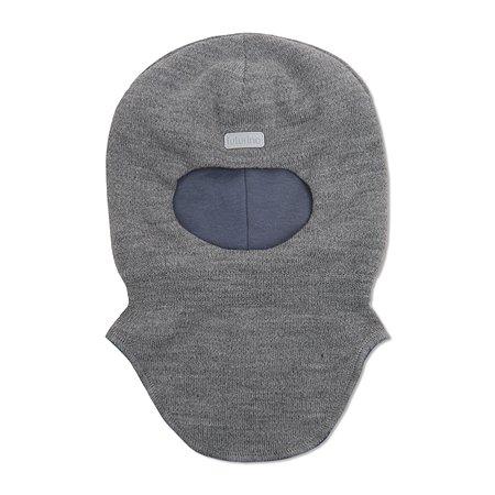 Шапка-шлем Futurino серая