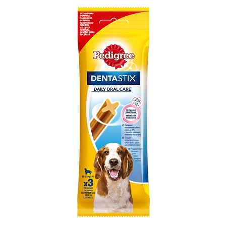 Лакомство для собак Pedigree Dentastix 77г
