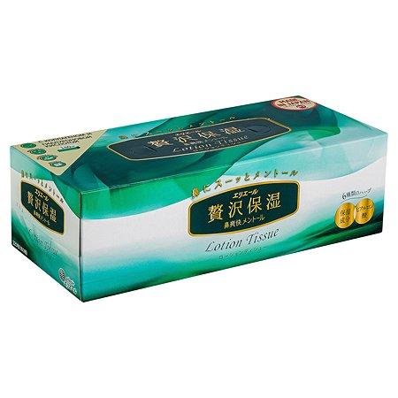 Салфетки Elleair Lotion Tissue Herbs 160шт