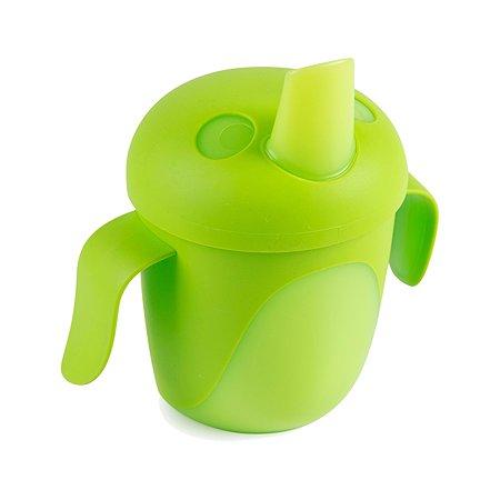 Чашка-непролиайка Canpol Babies 240мл с 9месяцев Зеленый