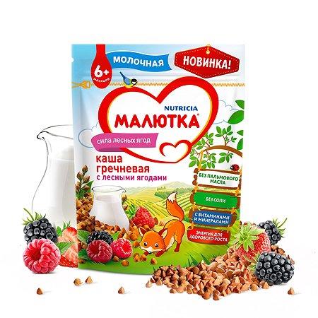 Каша молочная Малютка гречневая-лесные ягоды 220г с 6месяцев