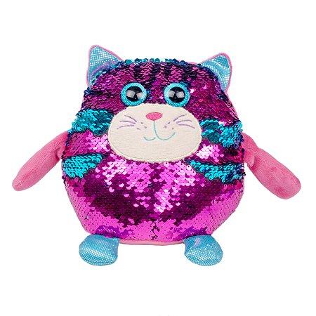 Игрушка мягкая Fancy Кот с пайетками LV1039