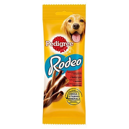 Лакомство для собак Pedigree Rodeo 70г