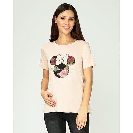 Футболка для беременных Minnie Mouse розовая