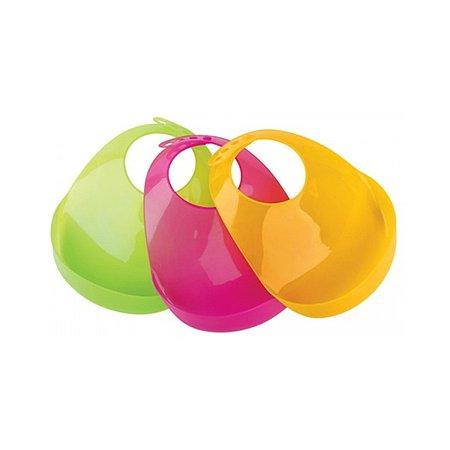 Слюнявчик Курносики пластиковый в ассортименте